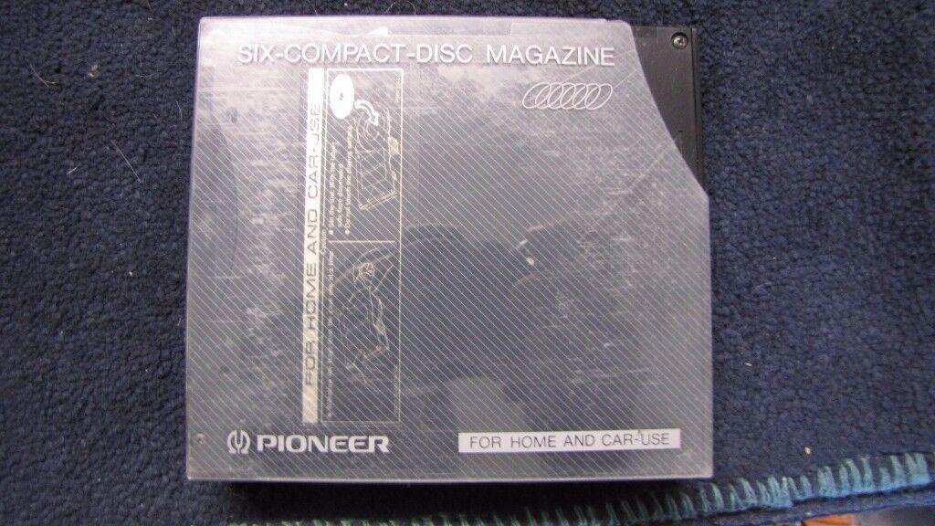 PIONEER 6-DISC MAGAZINE.