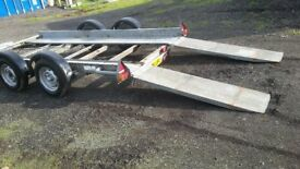 Trailer Twin Axle 12ft x 6 ft
