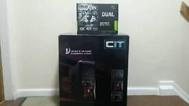 i7 Quad Core Gaming PC, 8GB DDR3 RAM, Brand NEW GTX DUAL 1050 Ti OC 4GB GDDR5