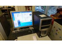 ESYSTEM DUAL CORE WINDOWS 7 DESKTOP PC