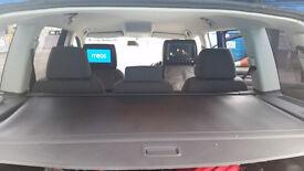 VW Touran 2.0 TDI 2007 138bhp, MOT: 7/2017, Blue, 7 Seats, New Alloys&Tyres, DVD at rear Seats
