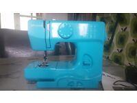 john lewis sewing machine teal blue
