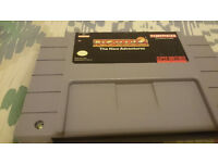 snes usa game cart pac man 2 the new adventures