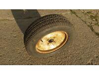 Unused 185/ 60 R14 car Tyre on rim