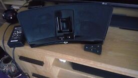 Klipsch ipod/iphone docking system