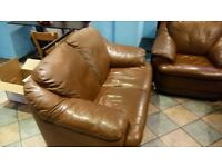 leather sofa for sale in good condition low price