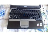 notebook netbook 12.1 dual core dell d430 2 gb ram 120 gb hdd
