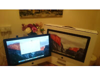 """Apple imac 21.5"""" late 2015 fabulous machine,boxed immaculate condition as new"""