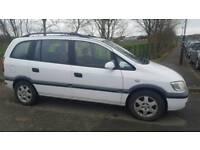 2002 Vauxhall zafira 2.0dti diesel