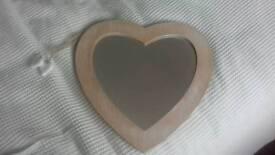 Heart shape Mirror