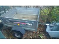 ERDE 122 Trailer with soft cover
