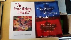 """As Prime Minister I Would"" books"