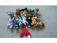 Mcdonalds TY Beanie Baby collection