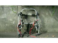 halfords 3 cycle carrier(bike rack) high level rear mounting.45kg carrying weight.