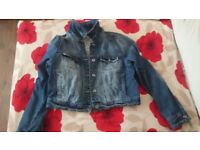 Denim Jacket, women size 14