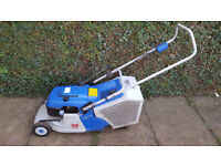 Yamaha petrol lawnmower with rear roller