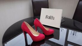 Red Faith Shoes