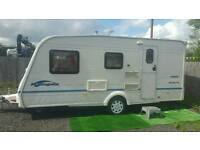 2005 bailey ranger 470/4 berth top of the range model with a awning in vgc ready to go
