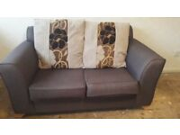 2 x two seater sofa immaculate condition from smoke free home