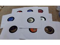Ten 78 rpm shellac old gramophone records - some great names - nostalgia trip !