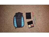 Nintendo Dsi case with multiple pockets great condition
