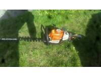 Stihl hs81r hedge cutter trimmer