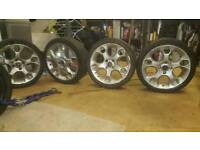 Ford Fiesta 08-15 17 inch Alloys and Tyres