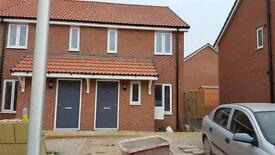 Two bedroom brand new home to rent in Hill Barton, Exeter