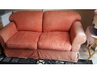 Free sofa bed,double sprung ,good condition,hardly used as bed,clean mattress.
