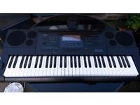CASIO Keyboard CTK-6200 (Black)