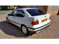 Bmw 316 compact automatic 49k only real long mot car is new no astra civic punto a3 a4 clio focus