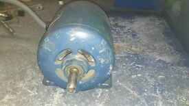 electric motor with switch