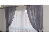 Silver curtain need gone asap