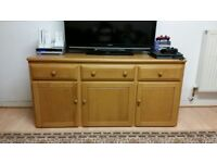 QUICK SALE HEAVY-DUTY TV CABINET