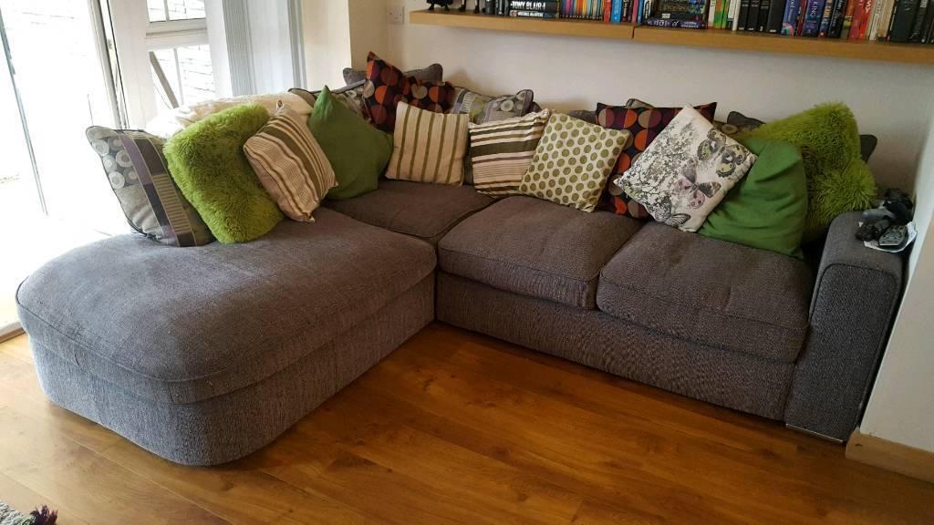Sofa fabric corner