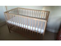Ikea Cot & new mattress- Free
