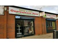 Shop, prime location, cheap to run! Kitted out as paper shop with storage and parking