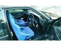 Fk performance bucket seats with harnsess