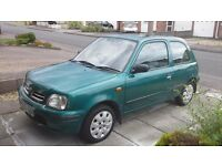 NISSAN MICRA 1.0L 61000MLS GENUINE, SERVICE HISTORY AND MOT