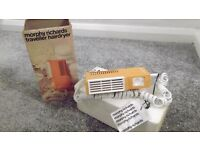 Morphy Richards traveller hair dryer 120/240V dual voltage. New in box never used.