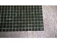 Black Glass Mosaic Tiles,