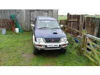 mitsubishi l200 animal spares or repair