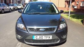 2010 FORD FOCUS 1.6 AUTO ZETEC 100 3DR 30K LOW MILES ONLY AND FUL SERVICE DONE