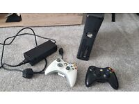 Xbox 360 S and a few games