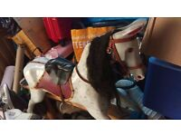 Beautiful Antique Rocking Horse