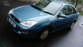 Ford FOCUS Ghia 1.8,petrol. Metallic blue, 4dr