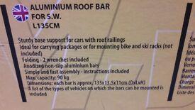 M Way eagle aluminium adjustable roof bars