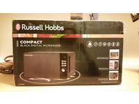 Russell Hobbs UNOPENED Black Digital Microwave