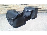 SADDLEBAGS FOR CRUISER MOTORCYCLES