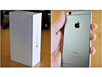 BOX ONLY - 128gb iphone 6 plus silver